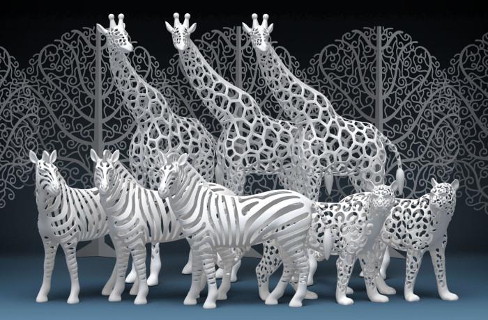 3Dプリンター出力制作